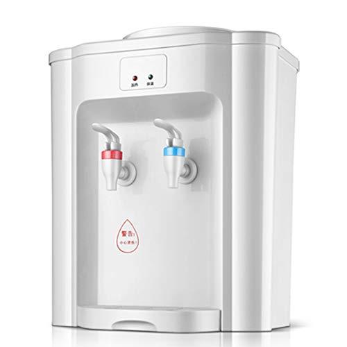 LYHD Mini máquina dispensadora de Agua fría y Caliente de sobremesa, Puede Hacer Agua de Soda con Sistemas de filtros de Hielo/Agua Purificador Caliente y frío, Adecuado para Dormitorio/Oficina/Hog