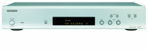 Onkyo T 4355 Stereo-Tuner Silber