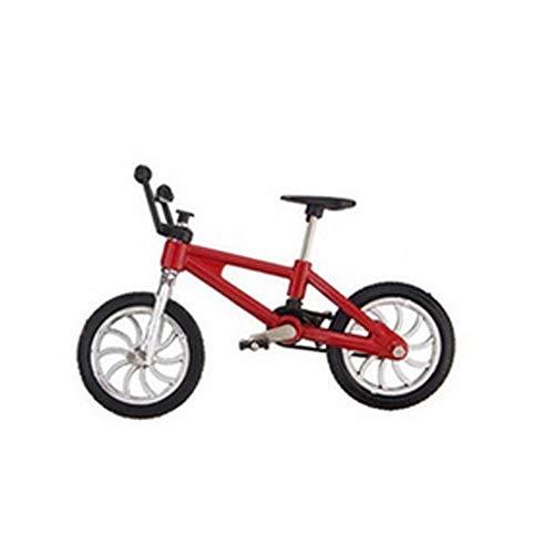 Mini Bike Modèle jouet pour enfants et adultes en alliage de zinc doigt jouet doigt Modèle de boules de BMX Bike Gadgets 1PC Couleur aléatoire