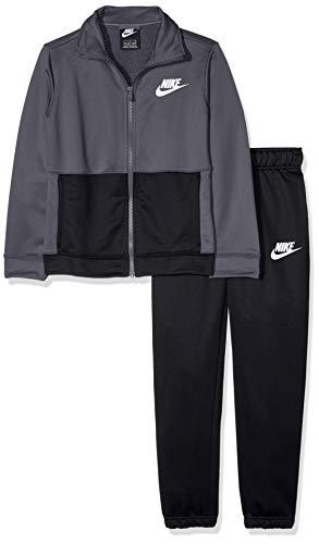 Nike Sportswear Tuta, Grigio (Dark Grey/Black/White 021), Small Bambino