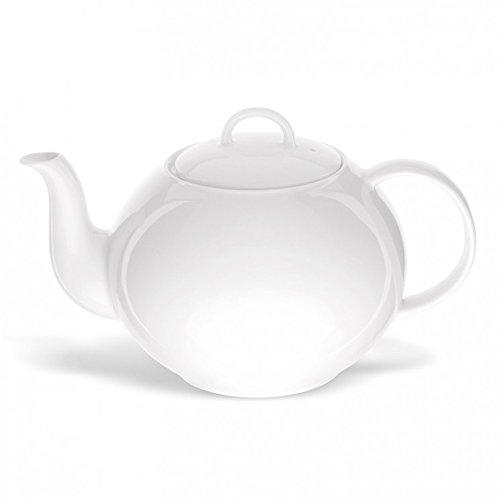 Ronnefeldt - Teekanne - 1,2 Liter - Weiss - Porzellan - Klassische Form