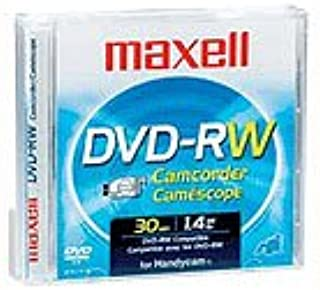 Maxell DVD-RW Camcorder Disks, 2 Pack