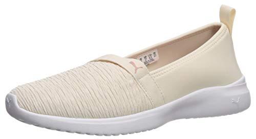 PUMA Adelina, Zapatillas Deportivas. Mujer, Pergamino para Novia, Color Blanco, 38.5 EU