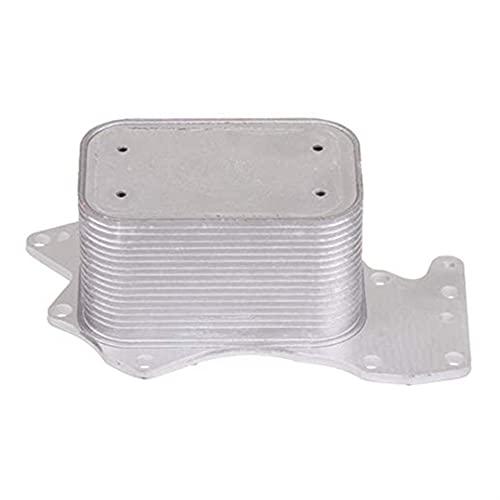 MAIOPA Práctico Enfriador de Aceite del Motor para 2007-2012 Audi A5 A6 Q5 Q7 S5 S6 para VW Touareg 059117021K Accesorio