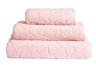 Luxuriöses, super saugfähiges Handtuch aus 100 prozent türkischer Baumwolle, 750 g/m², Rouge, 2 Stück