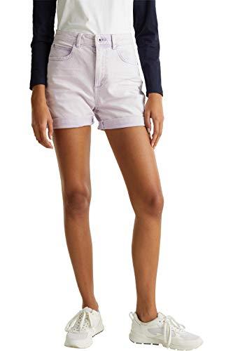edc by ESPRIT Damen 030CC1C304 Shorts, 560/LILAC, 36