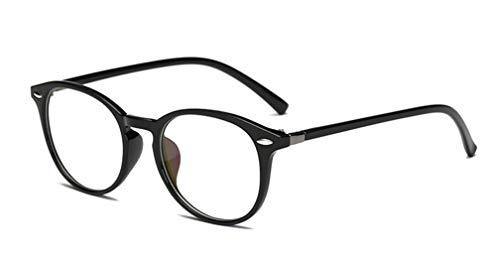 Tofox Runde Rahmen Retro Klare Linse Brille Brillengestelle Damen Herren Brillenfassung Retro Brille Ohne Stärke