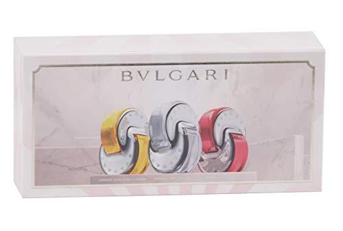 Bulgari Omnia Miniaturas femme/woman Geschenkset (Omnia Golden Citrine Eau de Toilette,15 ml+Omnia Crystalline Eau de Toilette,15 ml+Omnia Coral Eau de Toilette,15 ml) 45 ml