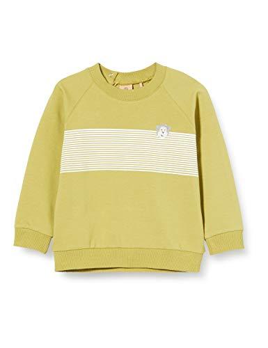Bellybutton mother nature & me Baby-Jungen 1/1 Arm Sweatshirt, Grün (Moss|Green 5093), (Herstellergröße: 92)