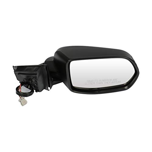 SCITOO Passenger Side Mirror Right Side View Mirror Fits for 2007-2011 for Honda CR-V Power Control Heated Manual Folding HO1321239 76200SWAA21ZC