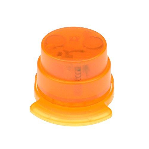 bind klammerloser Hefter ORIGAMI Papiertacker ohne Klammern Falttechnik orange 70522-4