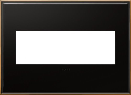 Legrand (AWC3GOB4) adorne Oil-Rubbed Bronze 3-Gang Wall Plate by Legrand