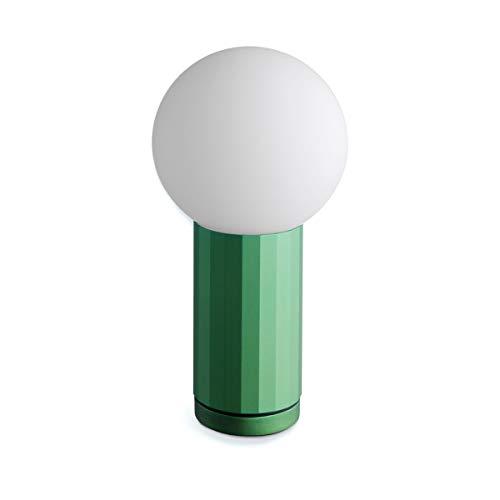 HAY Turn On Tischleuchte LED, grün
