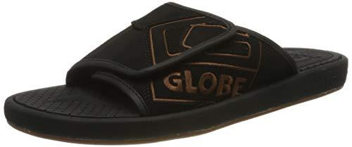 Globe Focus Bl Slide, Scarpe da Spiaggia e Piscina Uomo, Multicolore (Black/Tan 000), 39 EU