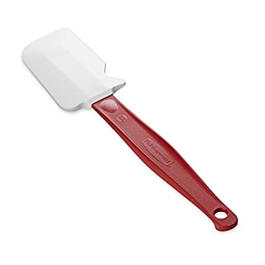 Rubbermaid Commercial Products FG1962000000 High Heat Silicone Spatula, 9.5 , Red Handle