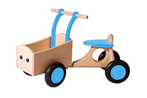 Van Dijk Toys Bakfiets lichtblauw