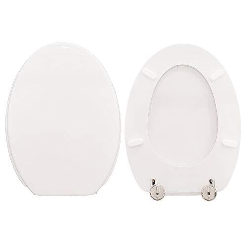 Copriwater IRIL ceramica SCALA compatibile laccato bianco lucido poliestere
