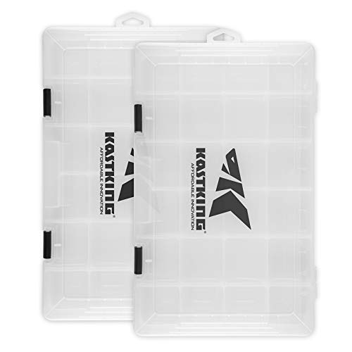 KastKing Tackle Boxes, Plastic Storage Organizer Box with...
