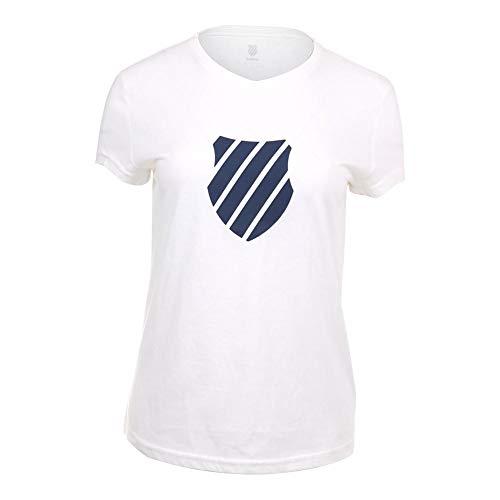 K-Swiss 918206103 Camiseta, Mujer, (Royal Blue), M