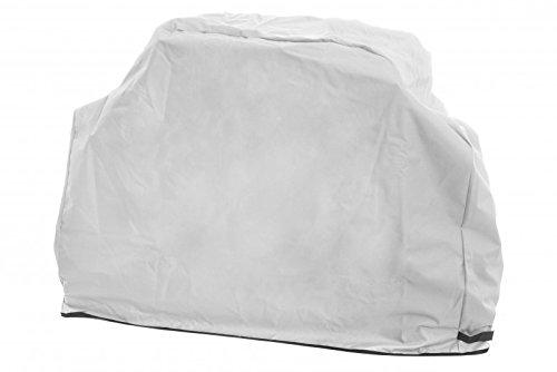 Mustang grillabdeckung | 165 x 53 x 99 cm | couleur : gris | Épaisseur derbe Exécution - Capot de barbecue - housse barbecue à gaz | Coque | résistante aux UV | Finlande Premium Qualité