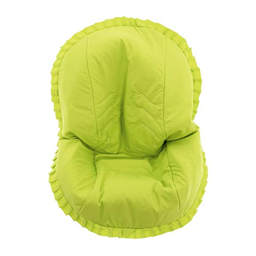 Colchoneta para silla de paseo grupo 0 Abatible Rosy Fuentes- Ideal para Capazos de Grupo 0 Abatibles - Funda Silla Paseo - Resistente y Duradero - Elaborado en Popelin - Color verde