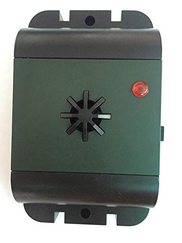 ISOTRONIC® Ultrasonic Bird Repeller device, Battery powered portable Bird Deterrent, Pigeon Scarer - Pack of 1 Pcs.