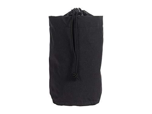Fjällräven Unisex-Adult Kånken Bottle Pocket Carry-On Luggage, Black, Einheitsgröße
