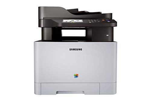 Samsung Xpress C1860FW Wireless Color Laser Printer with Scan/Copy/Fax, Simple NFC + WiFi Connectivity and Built-in Ethernet, Amazon Dash Replenishment Enabled (SS205H) (Renewed)