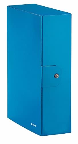 LEITZ WOW cartella progetti - dim. 25 x 35 cm dorso 10 cm - Azzurro metallizzato - 39680036
