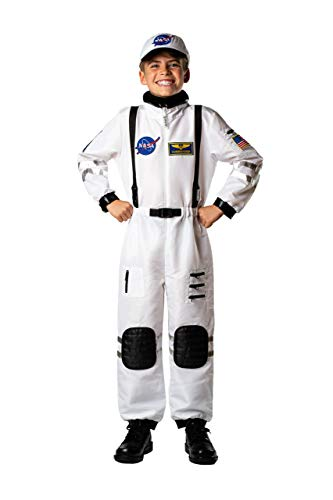Bad Bear Brand Kids Astronaut Commander Costume for Boys and Girls Black