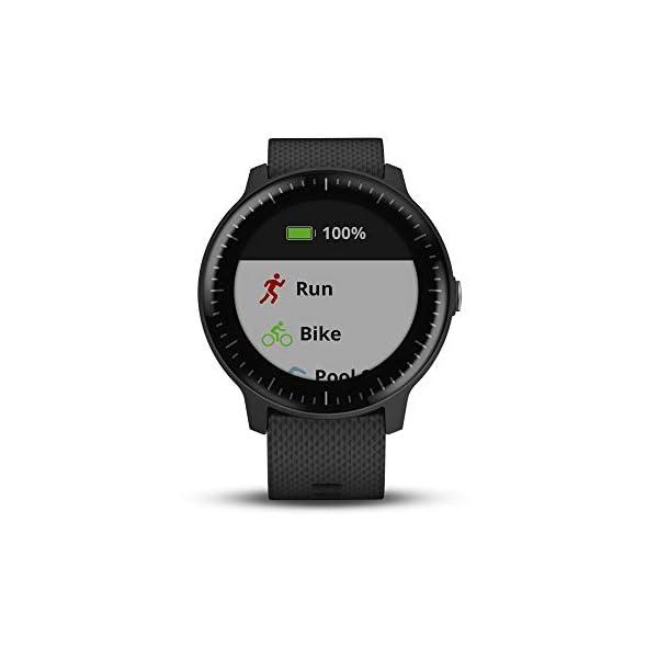 Garmin vívoactive 3 Music, GPS Smartwatch with Music Storage, Supports Spotify - Black (Renewed) 3
