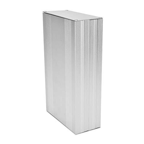 Caja de caja, buena disipación de calor, aleación de aluminio, 2,68 x 5,71 x 9,84 pulgadas, caja de proyecto, para decodificadores y controladores de productos electrónicos
