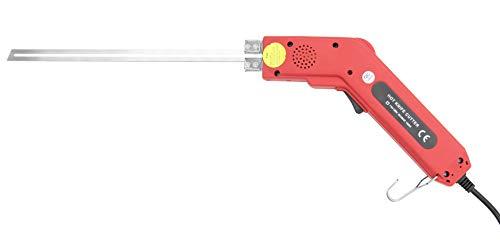 Huanyu 発泡スチロールカッター 25CM/250W ホットナイフ フォームカッター 50-500℃ 溝付け 彫刻 フォーム/スポンジ/KTボード/断熱板/押出板/EPE 収納ケース付き(250W,25CM)