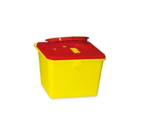 Kanülenabwurfbehälter von carmesin.com 193525 Safe-Box 6,0 Ltr. -neue Ausführung -