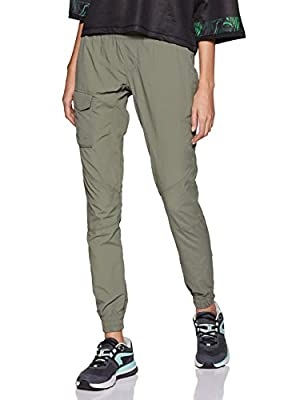 Columbia Women's Silver Ridge Pull On Pants, Cypress, Small x Regular