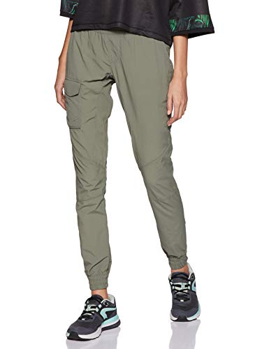 Columbia Women's Silver Ridge Pull On Pants, Cypress, Large x Regular