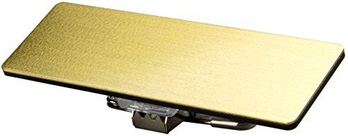 東和マーク(Towamark) 無地名札 真鍮タイプ 6×2×2cm NSO-B001