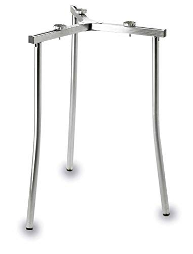 LACOR 5020095 Soporte para Paellero Butano, Aluminio, Gris, 56 cm