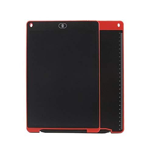 BXGZXYQ Kinderspielzeug Malerei Graffiti Elektronische Kleine Tafel 12 Zoll LCD Tablet Tablet LCD Business WordPad Hinweis Digital Writing Pad for Laptop (Farbe : ROT)