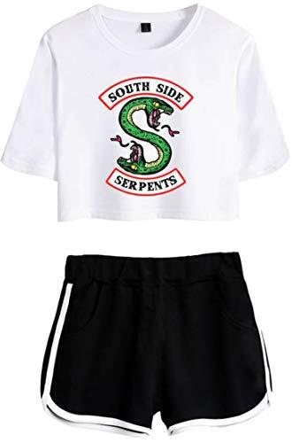 OLIPHEE Chándales Logo Batalla Riverdale Camisa Pantalones