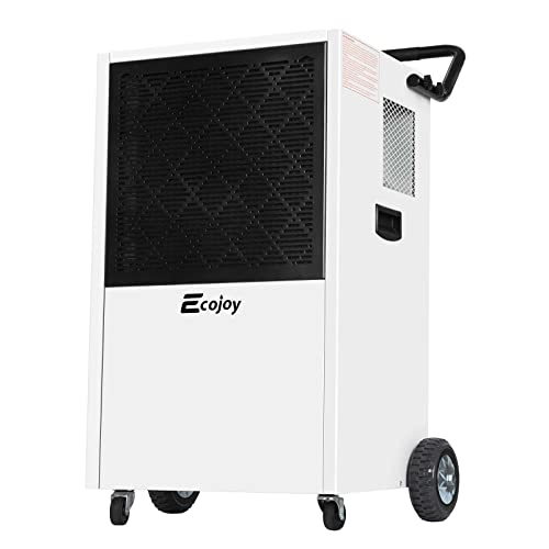 232 PPD Commercial Dehumidifiers for Basements Industrial Dehumidifier with Drain Hose for Warehouses Garages Workshops Storage File Room Water Damage Restoration Moisture Removal up to 29 Gallons/Day