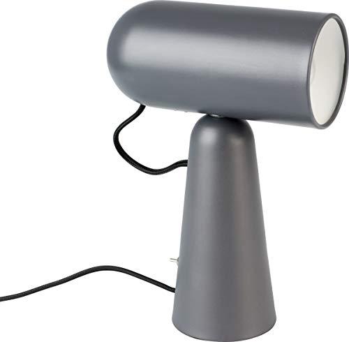 Lampada da scrivania Vesper grigio scuro