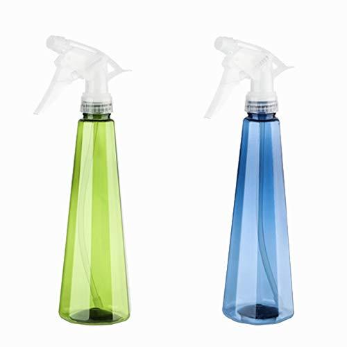 Portable Plastic Spray Bottle hervulbare Spray fles lege fles Watering Can gemakkelijk te gebruiken Fles for Keuken Badkamer Cleaning (Color : Green+blue, Size : One size)