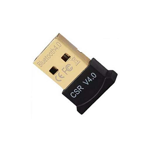 Bluetooth 4.0 USB Low Energy Micro Adapter Dongle für PC mit Windows 10/8.1/8/7 / Vista/XP, Raspberry Pi, Linux