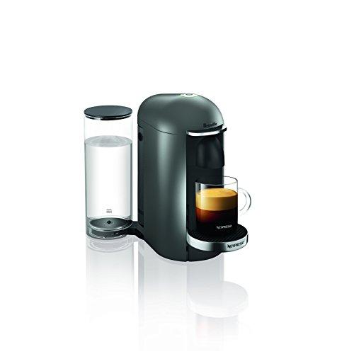 Breville-Nespresso USA BNV420TTN1BUC1 VertuoPlus Coffee and Espresso Machine, Titan