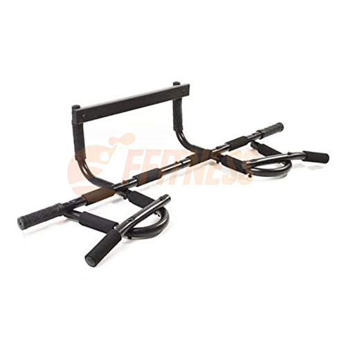 FFitness FSMDK811 - Barra de dominadas para puerta profesional Iron Gym Body Building Fitness Casa Gimnasio Pecho Tronco Tríceps 150 kg