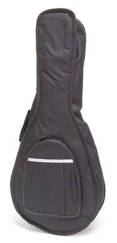 Stronghold gepolsterte Mandolinentasche (Softcase) – mit Reißverschlusstasche, Rucksackgurten und Tragegriff