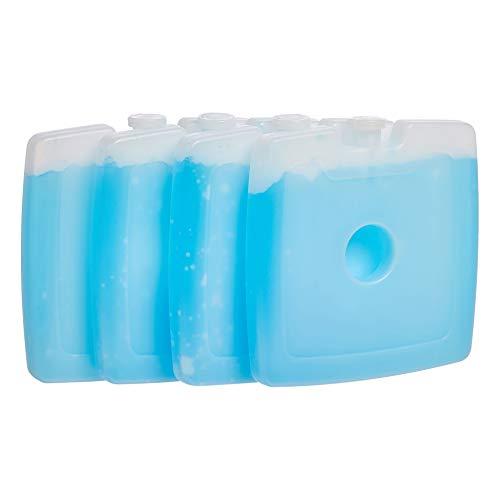 AmazonBasics Reusable Hard Sided Square Ice Pack