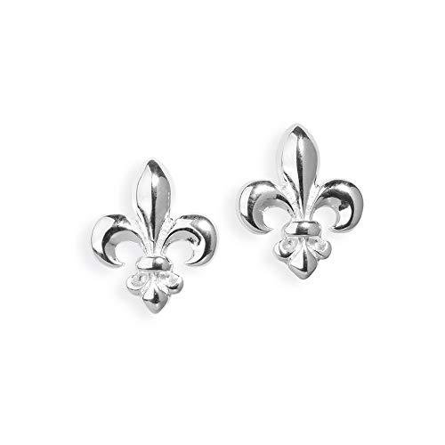 Heartbreaker Luxus Lilien Ohrstecker aus der Kollektion F´lys in Echtsilber | Ohrringe Silber 925 Sterling nickelfrei | Elegante Design Ohrringe für Damen