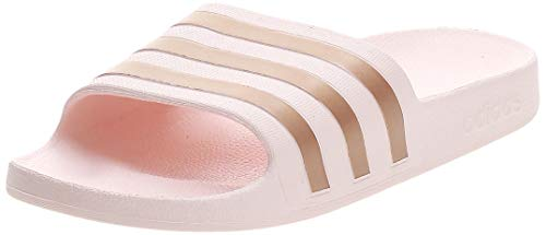 adidas Womens Aqua Adilette Gymnastics Shoe, Pnktin Coppmt Pnktin,38 EU